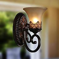 ecolight® מנורות קיר בציר אור 1 עם אורות מסדרון סלון חומר שרף זכוכית בגוון מיטת חדר