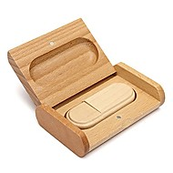 Lovely Wood Model USB 2.0 Memory Flash Drive Pen DriveU Disk Thumb Drive 4GB