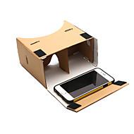 diy google karton virtual reality 3d bril voor telefoon