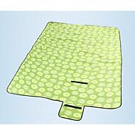 Hewolf Moistureproof/Waterproof/Breathability Polyester Camping Pad Green/Pink/Blue/Light Green/Orange