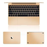 """guld eller silver laptop skinn täcka film för MacBook hela kroppen pro näthinnan 13 """""""