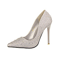 Women's Shoes Stiletto Heel Platform/Novelty/Pointed Toe Pumps/Heels Wedding/Party & Evening/Dress