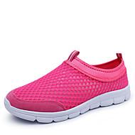 Women's Spring / Summer / Fall Comfort / Round Toe Tulle Slip-on Blue / Pink / Navy Running