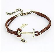 Personality Anchor Bracelet