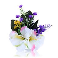 פרחי חתונה בצורה חופשיה ורדים פרחי דש חתונה חתונה/ אירוע טול עור שיפון