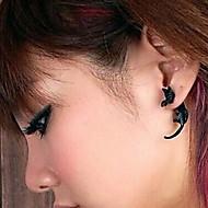 Personality Long Tail Cat Stud Earrings