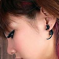스터드 귀고리 여성용 레진 귀걸이