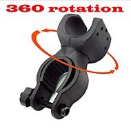 Bicycle Bike MTB Cycling Rotate 360 Degrees Lamp Stents Flashlight Bracket