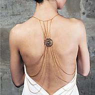 Dámské Tělové ozdoby Tělo Chain / Belly Chain Slitina Prohlášení o šperky luxusní šperky Barva obrazovky Šperky Ležérní