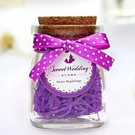 Süßigkeiten Gläser und Flaschen ( Lila/Rosa/Rot , Glas ) - Personalisiert -Hochzeit/Jubliläum/Brautparty/Babyparty/Quinceañera & Der 16te