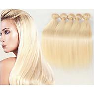 """3pcs / lot cheveu humain brésilien de trame linéaire 8 """"-34"""" # 613 extensions de cheveux humains 100g / pc cheveu humain tisse"""