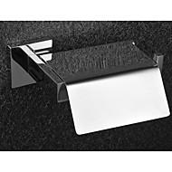 בעל גליל נייר טואלט רכוב קיר מחזיק נייר טואלט הנירוסטה מלוטש מראה בחדר האמבטיה