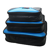 Waterproof 3pcs/set Portable Travel Organizer Bag for Electronic Accessories