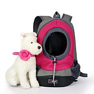Γάτα Σκύλος Αντικείμενα μεταφοράς & Σακίδια ταξιδίου πλάτης Κατοικίδια Καλάθια Μονόχρωμο Φορητό Αναπνέει Κίτρινο Πράσινο Μπλε Ροζ