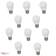 10ks 3 w E27 8xsmd5630 450lm vedl zeměkoule žárovky LED žárovky (220)