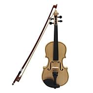 ASTONVILLA Maple Wood Violin Wood Color Imitation Ebony -AV01