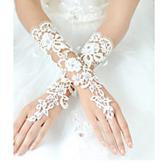 Wrist Length Fingerless Glove Lace Bridal Gloves / Party/ Evening Gloves Spring / Summer / Fall