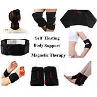 auto-aquecimento Turmalina suporte de cintura joelheira pescoço ombro pad tornozelo suporte sustentação do cotovelo 7 em 1 set a terapia