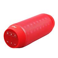 BQ-615 High Quality LED Discolor Bluetooth kaiutin TF Port / FM-radio Iphone/MP3/Computer ym. (Assorted Color)