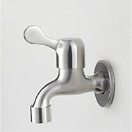304 nerez ocel voda ústa singl rukojeť umyvadlem kohoutek nástěnné zahradní kohoutek
