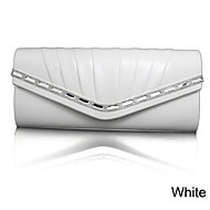 Handbag Faux Leather Evening Handbags/Clutches/Cross-Body Bags/Mini-Bags/Wallets & Accessories With Crystal/ Rhinestone
