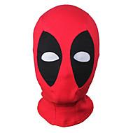 Deadpool mutantti wilson cosplay naamio huppu kommandopipo kasvot säädettävissä halloween unisex
