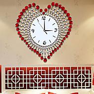 fasjonable kreative moderne luksuriøse stue hjerte veggur