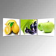 Still Life Fruits Canvas Print Stretched Canvas Print Three Panels High Quality Canvas Ready to Hang