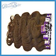 Wholesale Cheap 2Kg 40Pieces Lot Cheap Peruvian Hair Body Wave Grade5A 100% Human Hair Weaves Bundles Color Brown