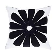 """Современный / современный 18 """"квадрат цветочные / геометрическая подушка со вставкой"""