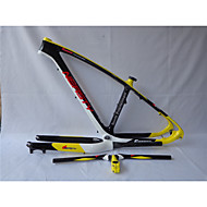 MB-NT202G2 Neasty Logo High Qulity Yellow Color 29er Full Carbon Fiber Mtb Frameset Frame Fork Handlebar