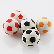 søt fotball montere gummi viskelær (tilfeldig farge)