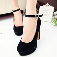 Women's Shoes Faux Leather Stiletto Heel Heels/Platform/Novelty/Closed Toe Pumps/Heels Party & Evening/Dress/Casual
