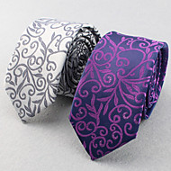SKTEJOAN®Men's Business Casual Wedding Tie. (Width: 6CM)