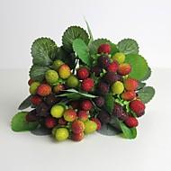 """11 """"jó minőségű mesterséges waxberry lakberendezési utánzás gyümölcs 1 csokor"""