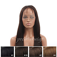 8''-24'' Yaki Remy Virgin Indian Human Hair Wigs Silk Top Full Lace Wigs With Baby Hair For Black Women