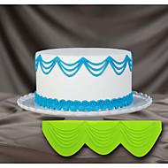 taart decoreren siliconen mal 3d taart stencil triple druppel reeks 3D-stencils voor taart decoreren en ambachtelijke kunst