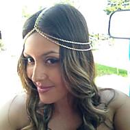 Chaîne pour Cheveux Casque Casual/Outdoor Alliage Femme Casual/Outdoor 1 Pièce