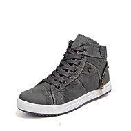 Men's Shoes Outdoor/Office & Career/Casual Canvas Fashion Sneakers Blue/Gray