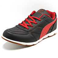 Men's Shoes Leatherette Athletic Athletic Shoes Athletic Walking Red