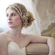 Dame Stof Medaljon Bryllup/Speciel Lejlighed Hårspænde Bryllup/Speciel Lejlighed 1 Stykke