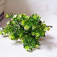 """1 Ramo Poliéster Plantas Flor de Mesa Flores artificiais 35(13.8"""")"""