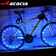 Luzes de Bicicleta luzes da roda LED - Ciclismo Cores Variáveis pilhas 400 Lumens Bateria USB Ciclismo