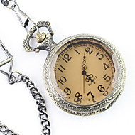 Men's Alloy Analog Quartz Pocket Watch (Bronze) Cool Watch Unique Watch