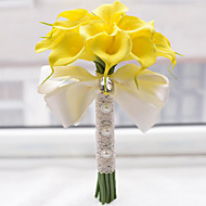 Calla Lily Wedding Bouquet Bride Holding Flowers