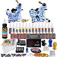 solong tetování kompletní tetování kit 2 Pro stroj s 28 inkousty napájecí jehlové madla