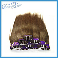 Wholesale Cheap 2Kg 40Pieces Lot Cheap Peruvian Hair Straight Grade5A 100% Human Hair Weaves Bundles Color Brown