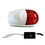 wireless alarma exterior sirene strobe sirena para o sistema de alarme de segurança anti-roubo