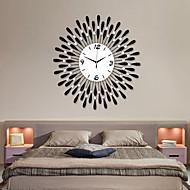 Modern Water-drop Pattern Iron Wall Clock