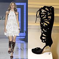 Women's Sexy high heels Stiletto Heel Peep Toe Gladiator Rhinestone Platform Sandals Party Shoes